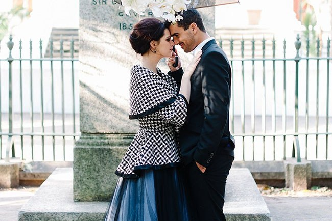 Italian Vogue Elopement