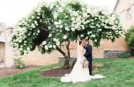 romantic Pennsylvania wedding