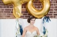 xo gold balloons