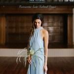 romantic side fishtail bride