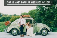 Top 10 Most Popular Weddings of 2014