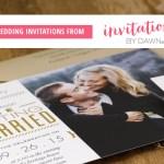Wedding Invitations by Dawn