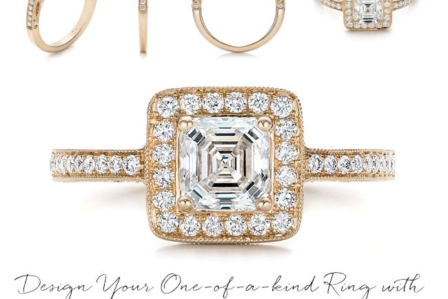 Joseph Jewelry custom engagement rings