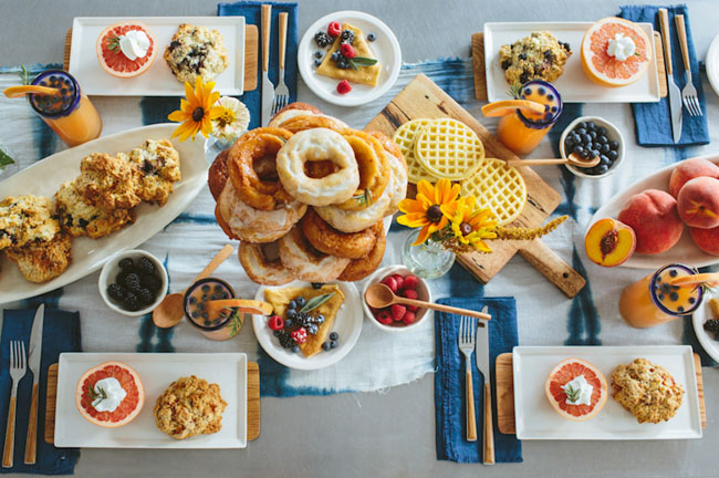 bridal breakfast inspiration