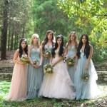 Fairytale bridesmaids