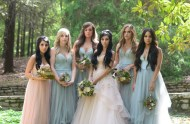 Fairytale bridesmaids