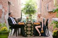 back alley wedding