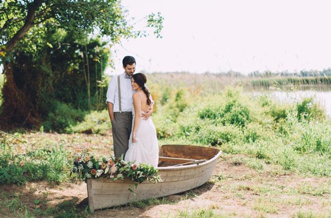 flower canoe