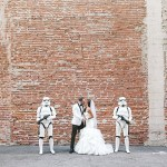 Star Wars inspired wedding