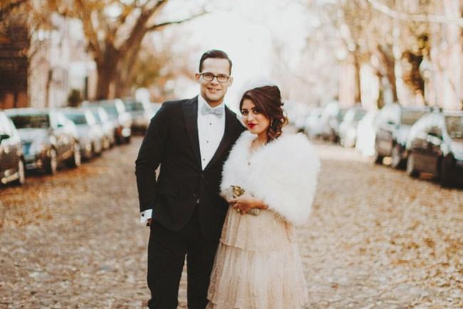 Valentines inspired wedding