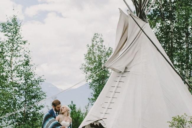 Aztec Canada wedding
