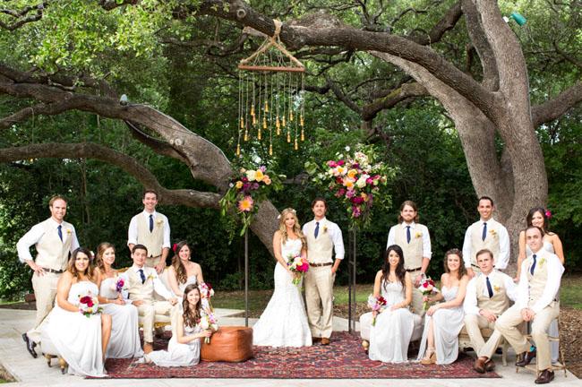 Boho Austin Wedding