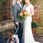 Carondelet wedding with pup