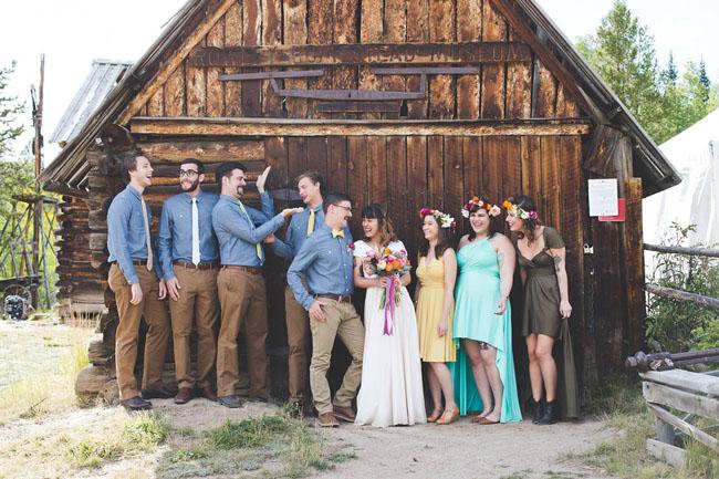 Musical Camp Wedding
