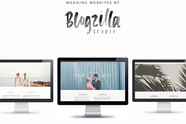 blogzilla wedding websites