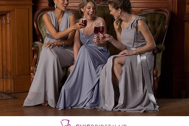 chic bridesmaid dress rental
