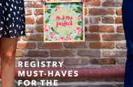 Registry Must Haves for the Creative Couple