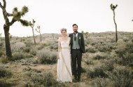 Joshua Tree Ruins Wedding