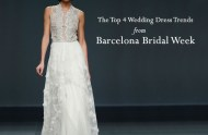 wedding dress trends from barcelona bridal week