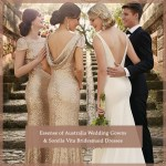 Essense of Australia Wedding Gowns + Sorella Vita Bridesmaid Dresses
