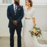 Patriotic Courthouse Wedding