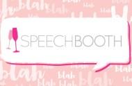 speech booth for weddings