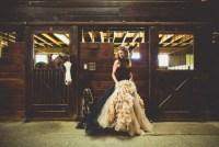 Black Vera Wang Wedding Dress
