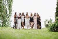 Lakeside bohemian bridal shower