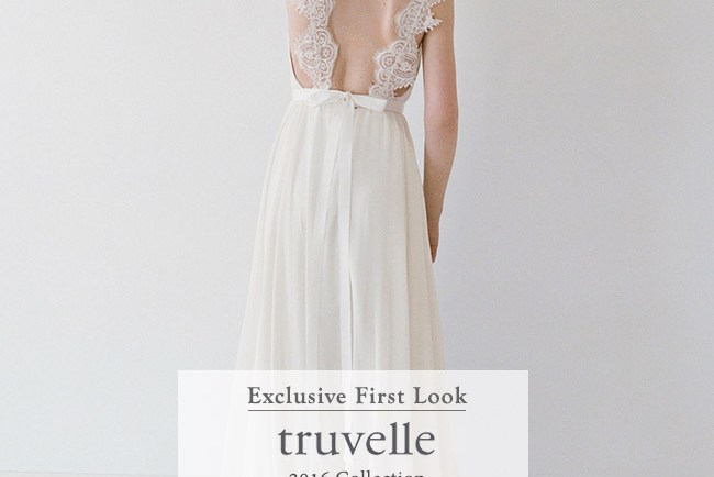 Truvelle 2016 Wedding Dress Collection
