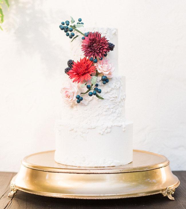 Elegant Fall Inspiration Cake