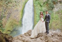Fairytale Waterfall Elopement