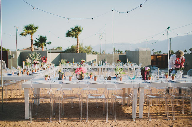 Mid Century Inspired Hotel Lautner Wedding Rachel Chris