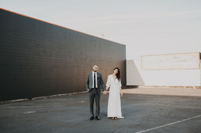 Portland Warehouse Wedding