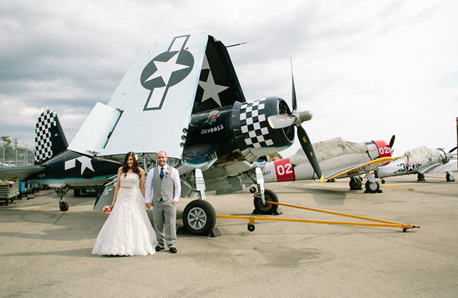Air Museum Wedding