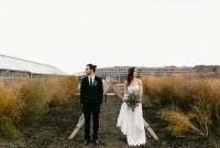 Sunset Anthropologie Inspired Wedding