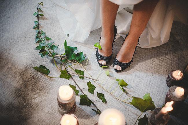 The Bride Scissorhands