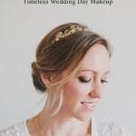 timeless wedding day makeup tutorial