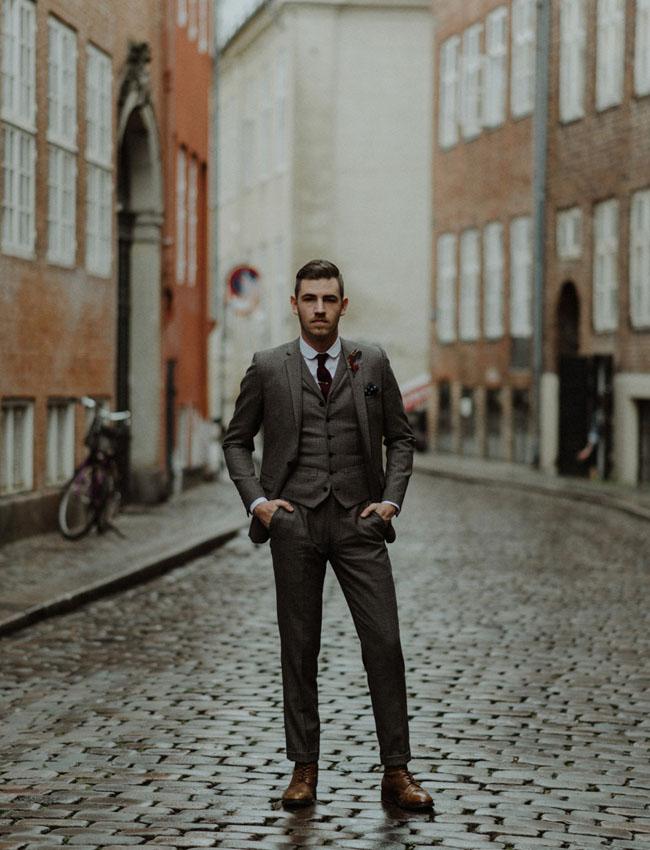 Tweed Suit Groom