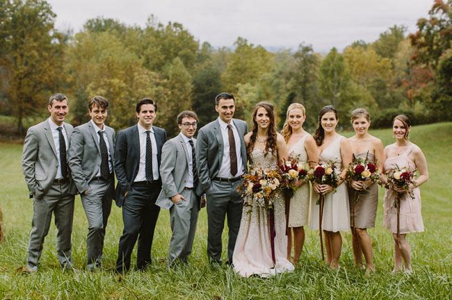 Fall Virginia Wedding