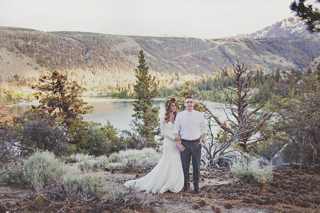 June Mountain Wedding