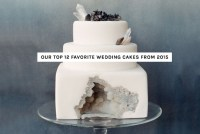Fave Wedding Cakes of 2015
