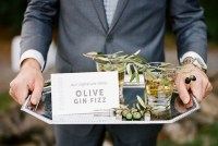 olive gin fizz