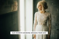 Top Wedding Dresses of 2015