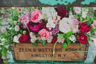vintage box of flowers copy