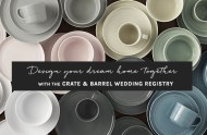 Crate & Barrel Wedding Registry