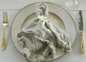 White-Farm-Table-Vintage-Charger-Gold-Flatware-Dublin-Crystal-Glasses-Vineyard-Chairs-Kona-Bay-Estates