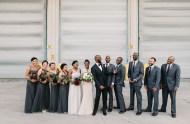 Industrial Garden Chicago Wedding