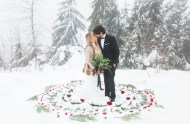 Winter Bohemian Wedding