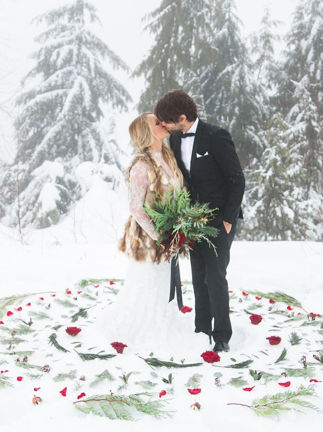 Winter Bohemian Wedding