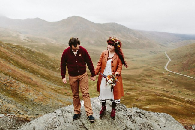 Eclectic Alaska Wedding